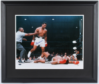 Muhammad Ali Signed 24.5x28.5 Custom Framed Photo (Steiner COA) at PristineAuction.com