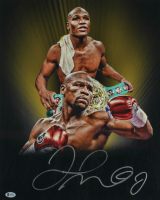 Floyd Mayweather Signed 16x20 Photo (Beckett COA) at PristineAuction.com