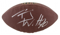 T.J. Watt Signed Full-Size NFL Football (Beckett COA) at PristineAuction.com