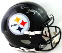Ben Roethlisberger Signed Steelers Full-Size Authentic On-Field Speed Helmet (Fanatics Hologram) at PristineAuction.com