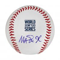 Magic Johnson Signed 2020 World Series Baseball (Beckett COA) at PristineAuction.com