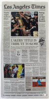 Magic Johnson Signed 2020 Los Angeles Times Newspaper (Beckett COA) at PristineAuction.com