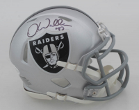 Darren Waller Signed Raiders Speed Mini Helmet (Beckett COA) at PristineAuction.com