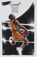 Tom Hodges - Kobe Bryant - Signed 11x17 LE Print LE #/25 (PA COA) at PristineAuction.com