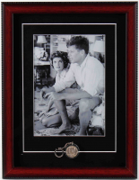 John F. Kennedy 14x18 Custom Framed Photo Display with 1964 Silver Half Dollar at PristineAuction.com