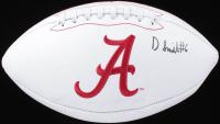 DeVonta Smith Signed Alabama Crimson Tide Logo Football (Beckett COA) at PristineAuction.com