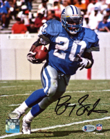 Barry Sanders Signed Lions 8x10 Photo (Beckett COA & Schwartz Hologram) at PristineAuction.com