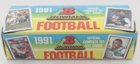 1991 Bowman Complete Set of (561) Football Cards at PristineAuction.com