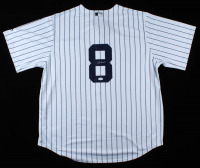 Yogi Berra Signed Yankees Jersey (JSA COA) at PristineAuction.com