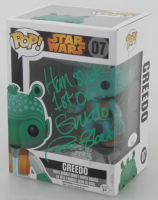 "Paul Blake Signed ""Star Wars"" Greedo #07 Funko Pop! Vinyl Figure with Inscription (JSA COA) at PristineAuction.com"
