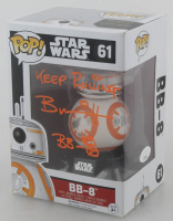 "Brian Herring Signed ""Star Wars"" BB-8 #61 Funko POP! Vinyl Figure Inscribed ""Keep Rolling"" & ""BB-8"" with Hand-Drawn BB-8 Sketch (JSA COA) at PristineAuction.com"
