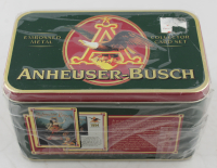 1996 Ertl Anneuser-Busch Factory Collectors Tin Set with (10) Cards at PristineAuction.com