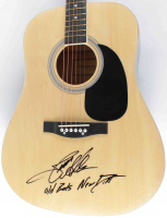 "Jason Aldean Signed 41"" Acoustic Guitar Inscribed ""Old Boots New Dirt"" (Beckett COA) at PristineAuction.com"