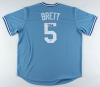 George Brett Signed Royals Jersey (Beckett COA) at PristineAuction.com