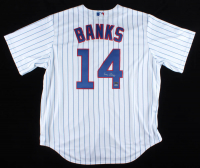 Ernie Banks Signed Cubs Jersey (TriStar Hologram & Banks Hologram) at PristineAuction.com