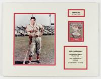 Joe Garagiola Sr. Signed Cardinals 14x18 Custom Matted 1990 Pacific Legends #24 Display (JSA COA & SOP Hologram) at PristineAuction.com