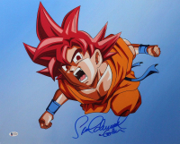 "Sean Schemmel Signed ""Dragon Ball Z"" 16x20 Photo Inscribed ""Goku"" (Beckett COA) at PristineAuction.com"