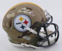 Chase Claypool Signed Steelers Camo Alternate Speed Mini Helmet (Beckett COA) at PristineAuction.com