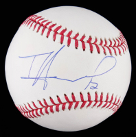 Tim Howard Signed OML Baseball (JSA COA) at PristineAuction.com