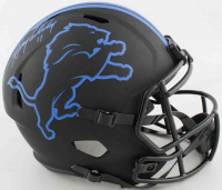 Kenny Golladay Signed Lions Full-Size Eclipse Alternate Speed Helmet (JSA COA) at PristineAuction.com