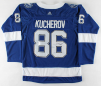 Nikita Kucherov Signed Lightning Jersey (JSA COA) at PristineAuction.com