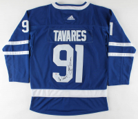 "John Tavares Signed Maple Leafs Jersey Inscribed ""Go Leafs!"" (PSA COA) at PristineAuction.com"