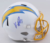 Keenan Allen Signed Chargers Full-Size Speed Helmet (JSA COA) at PristineAuction.com
