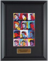 "Peter Max ""Bill Clinton"" 11x14 Custom Framed Print Display at PristineAuction.com"