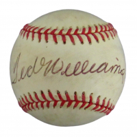 Ted Williams Signed OAL Baseball (JSA LOA) at PristineAuction.com