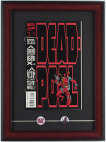 "1993 ""Deadpool"" Issue #1 Marvel 12x16 Custom Framed First Issue Comic Book Display with (2) Deadpool Movie Pins at PristineAuction.com"