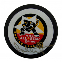 Bobby Orr Bruins Signed NHL All-Star Logo Hockey Puck (PSA COA) at PristineAuction.com