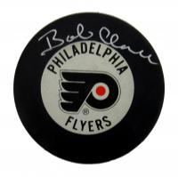 Bobby Clarke Signed Flyers Logo Hockey Puck (JSA COA) at PristineAuction.com