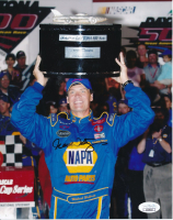 Michael Waltrip Signed NASCAR 8x10 Photo (JSA COA) at PristineAuction.com