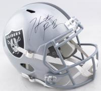 Hunter Renfrow Signed Raiders Full-Size Speed Helmet (Beckett COA) at PristineAuction.com