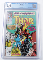 "1989 ""The Mighty Thor"" Issue #412 Marvel Comic Book (CGC 9.4) at PristineAuction.com"