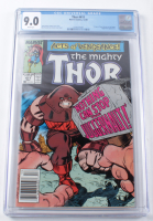 "1989 ""The Mighty Thor"" Issue #411 Marvel Comic Book (CGC 9.0) at PristineAuction.com"
