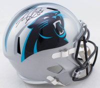 Greg Olsen Signed Panthers Full-Size Speed Helmet (Beckett COA) at PristineAuction.com