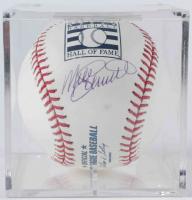 Mike Schmidt Signed Hall of Fame OML Baseball with Display Case (TriStar Hologram) at PristineAuction.com