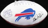 "Jim Kelly & Andre Reed Signed Bills Logo Football Inscribed ""HOF 02"" & ""HOF 14"" (JSA COA & TriStar Hologram) at PristineAuction.com"