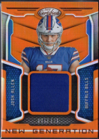 Josh Allen 2018 Certified New Generation Jersey Card #4 RC at PristineAuction.com