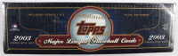 2003 Topps Baseball Complete Set of (720) Cards at PristineAuction.com