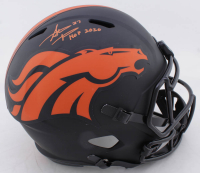 """Steve Atwater Signed Broncos Full-Size Eclipse Alternate Speed Helmet Inscribed """"HOF 2020"""" (Beckett COA) at PristineAuction.com"""