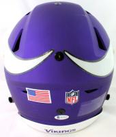 "Justin Jefferson Signed Vikings Full-Size Authentic On-Field SpeedFlex Helmet Inscribed ""Skol Vikings"" (Beckett COA) at PristineAuction.com"