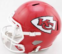 Patrick Mahomes Signed Chiefs Full-Size Speed Helmet (Beckett COA) at PristineAuction.com