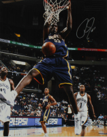 Roy Hibbert Signed Pacers 16x20 Photo (Beckett COA) at PristineAuction.com