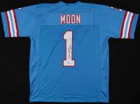 "Warren Moon Signed Jersey Inscribed ""HOF 06"" (Beckett COA) at PristineAuction.com"