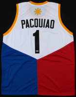 "Manny Pacquiao Signed Jersey Inscribed ""Pacman"" (Beckett COA) at PristineAuction.com"