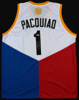 "Manny Pacquiao Signed Jersey Inscribed ""Pacman"" (Beckett Hologram) at PristineAuction.com"