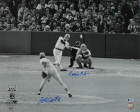 Rawley Eastwick & Bernie Carbo Signed 1975 World Series 16x20 Photo (Beckett COA) at PristineAuction.com