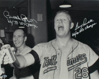 """Brooks Robinson & Boog Powell Signed Orioles 16x20 Photo Inscribed """"66/70 WS Champs"""" (Beckett COA) at PristineAuction.com"""